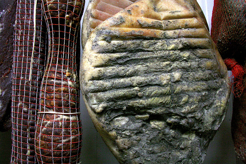 Prosciutto on the bone takes two years to prepare but people want it NOW