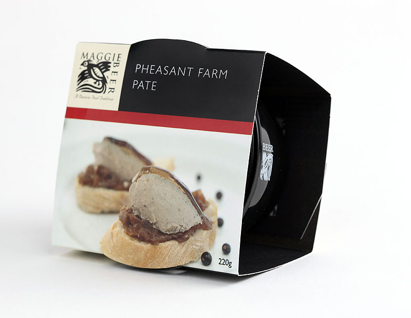 A grant to study game bird breeding in Europe led to the Pheasant Farm, then the Pheasant Farm Restaurant, a massive success that won restaurant of the year in 1991. In 1984 Maggie started up her produce business selling her signature pâté