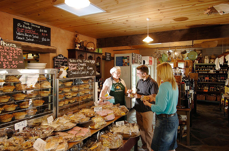 Today, loyal customers travel to the new site of this old bakery for a range of homemade treats.