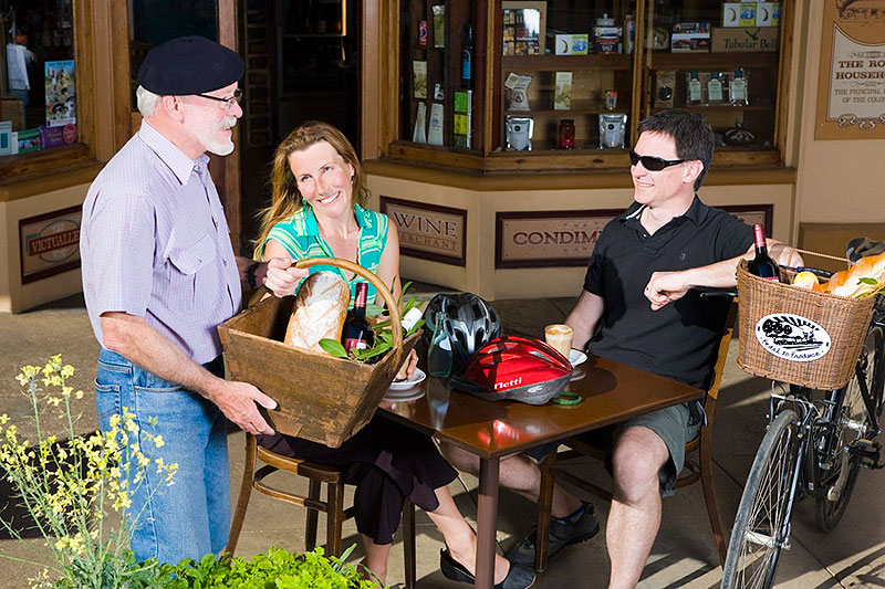 Shed the GPS system and four wheels, trade in your boot for a basket, and head to the Yarra Valley in northeast Victoria, home to Pedal to Produce, a series of food and wine trails designed specially for cyclists.