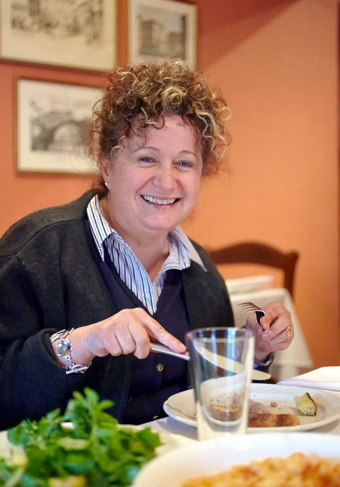 Perugia-born Patrizia Simone has been winning over tastebuds in the tiny food-basket town of Bright in Victoria's northeast for 22 years. image by ewen bell