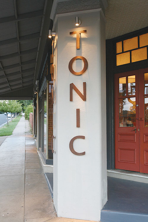 From a converted general store, the team at Tonic use local produce to create seasonal menus causing taste sensations.