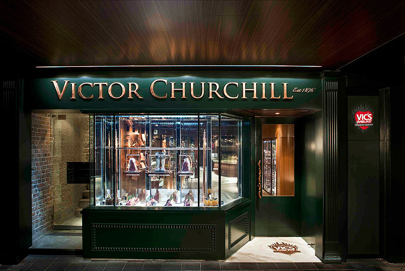In a space that's more designer boutique than family butcher, there isn't a piece of fake parsley in sight at Victor Churchill's top-notch chop shop.