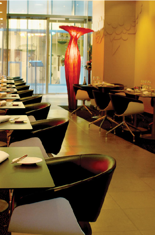 Try Absynthe for sophisticated French fine dining.