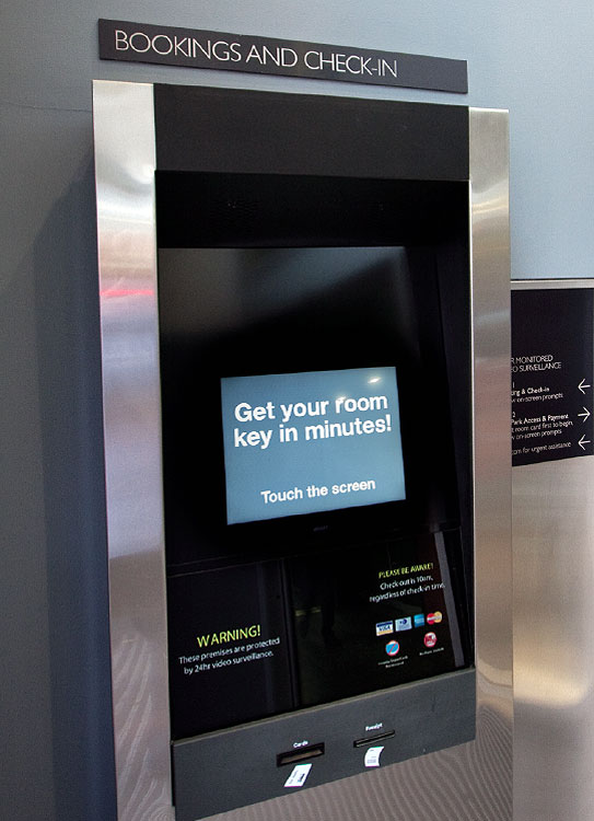 Is this ATM-style console really what will pass for a Concierge in the hotel of the future?