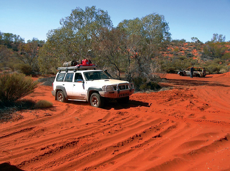 Scenes from Mary Ann West's journey across one of the harshest pieces of terrain in Australia: The Canning Stock Route.