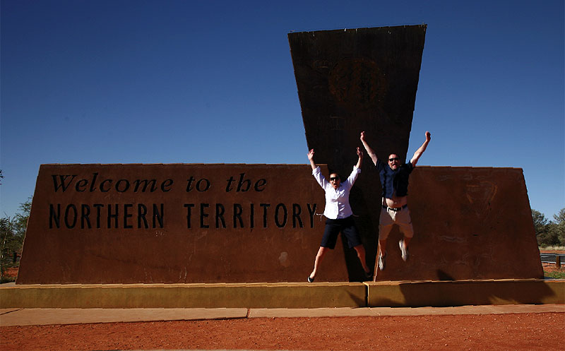 Welcome to the NT – and  to the rest of your married life.