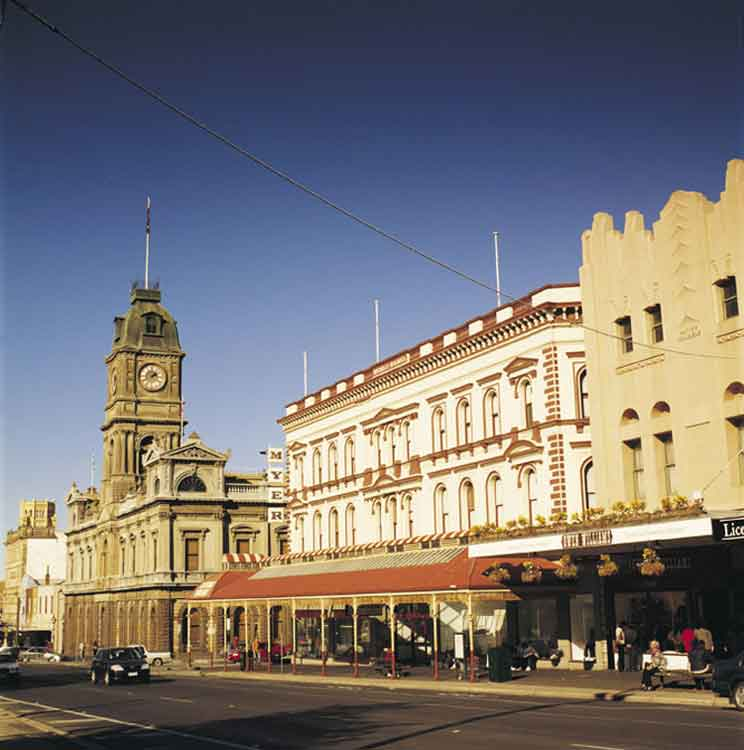 Beautiful historic Ballarat is an unusual but affordable summer destination