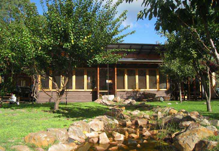 Grampians Eco YHA is a great option for cheap summer holidays