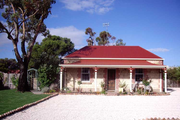 The cute and immensely affordable Jackling & Josephine Cottages in Goolwa