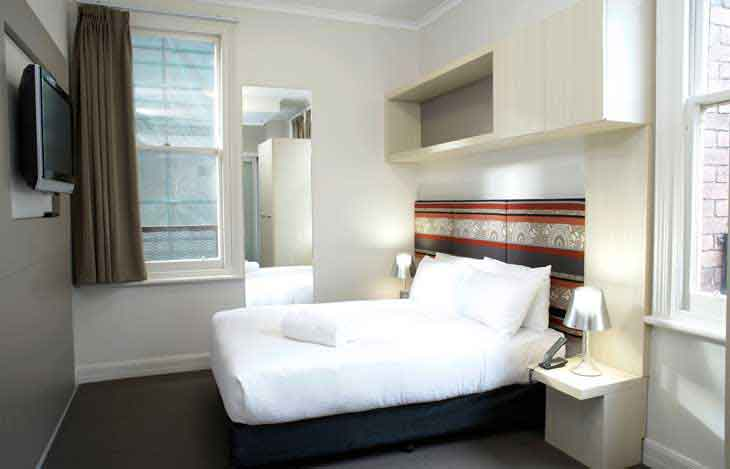 The incredibly affordable Pensione Hotel in Melbourne