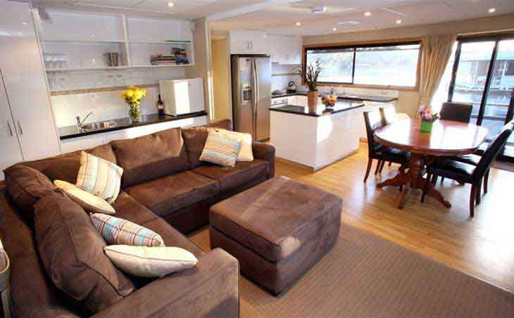 And houseboats are getting more and more posh for the dosh