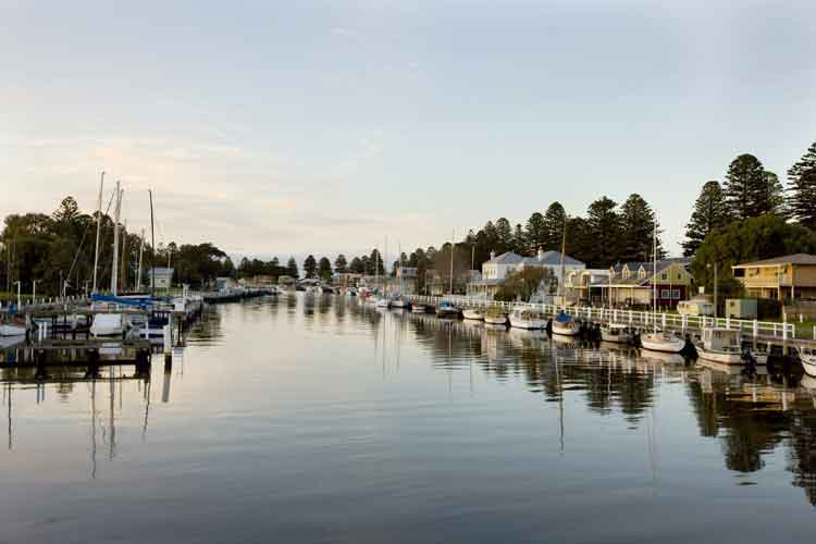 One of the most sort after summer destinations Port Fairy can be affordable