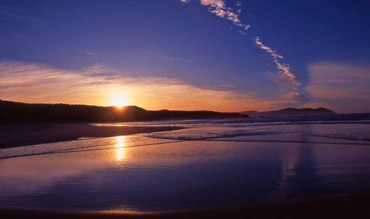 Sunset over the South Cape Tasmania
