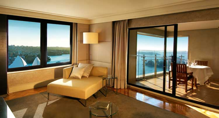 The Intercontinental Sydney's Australia Suite is where Presidents lay their precious heads when in Sydney