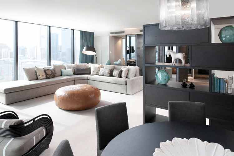 The Apartment at Crown Metropol is the only place for any self respecting A Lister to stay while the Crown Towers Presidential Suite is undergoing refurbishment
