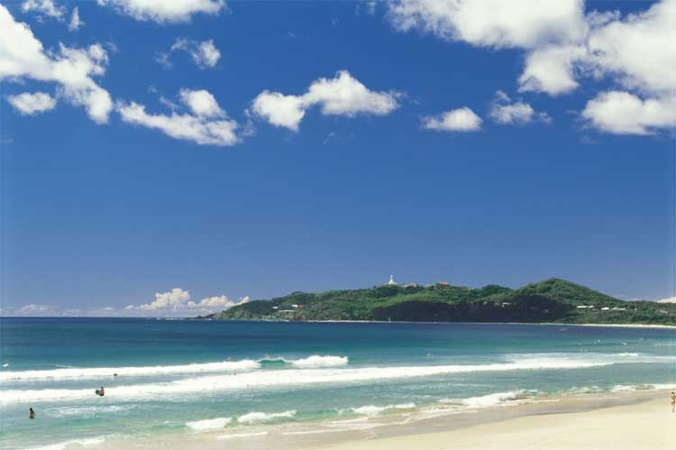 The idyllic Byron Beaches, perfect for the girls' road trip