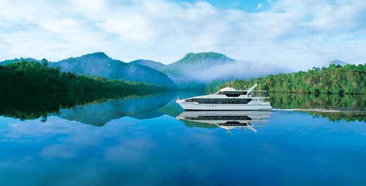 The number one, do not leave Strahan without doing - A Franklin River Cruise