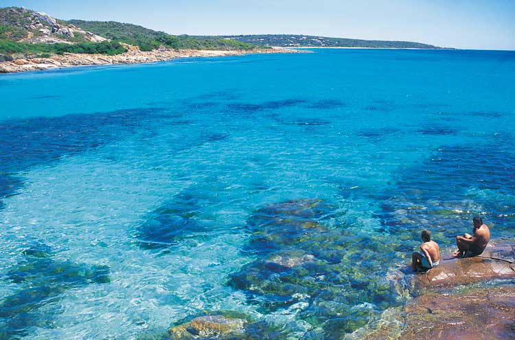 The girls will love the beaches of the Margaret River