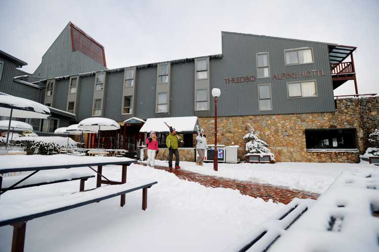 The iconic Thredbo Hotel is best place to base yourself for the Girls Weekend and road trip