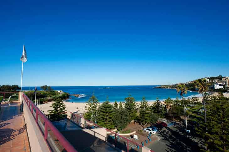 Coogee Sands Hotel in Eastern Sydney