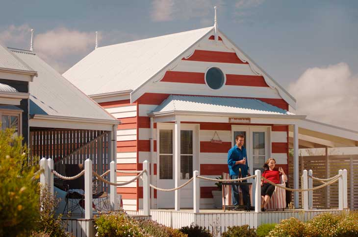 The ultra cute Middleton Beach Huts are incredible value for all holidayers in South Australia.