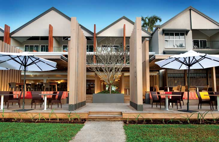 Castaway's Mission Beach affordable beachfront holiday units