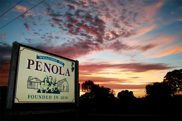 Penola, Mary Mackillop Country and Wine centre for Coonawarra