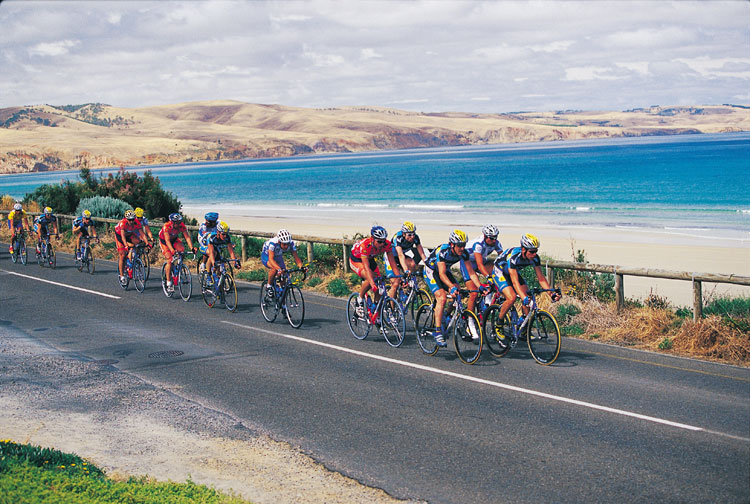The Tour Down Under is another spectacular event, if your not in the saddle.
