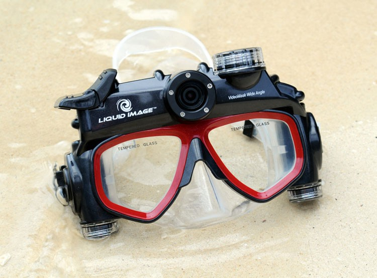Liquid Image camera goggles: Explorer Series 302 - If you want to take underwater photos AND use your hands, these are perfect.