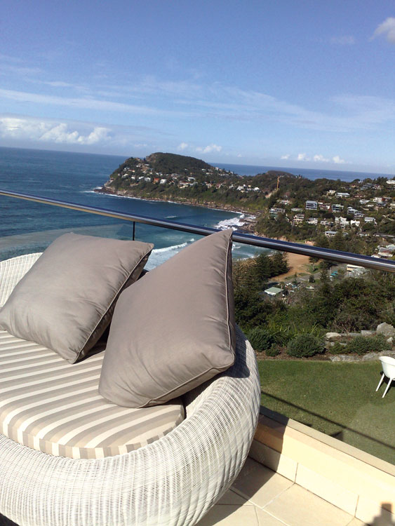 Jonah's Restaurant and Suites at Whale Beach is a great Australian Boutique Hotel.