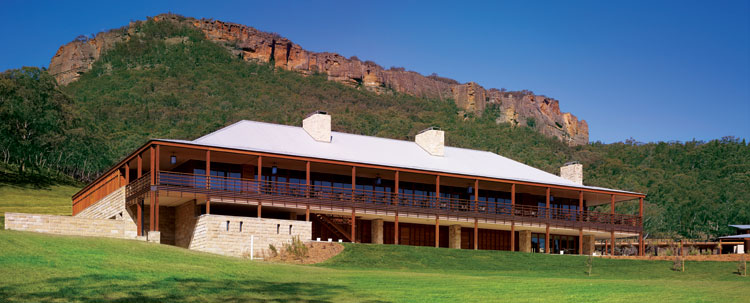 Emirates' Wolgan Valley Spa and Resort is a significant development in the luxury lodge market from 2009.