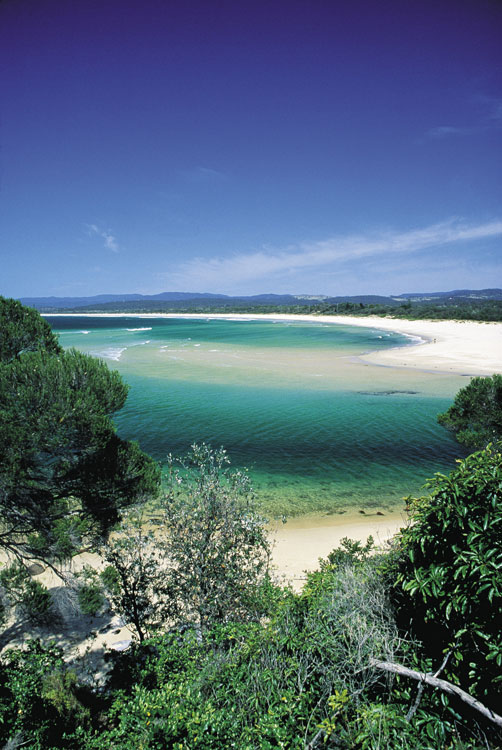 Just one of the many amazing Merimbula beaches