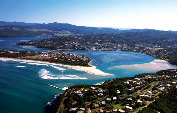 Merimbula, gem of the Sapphire Coast. Image John Ford