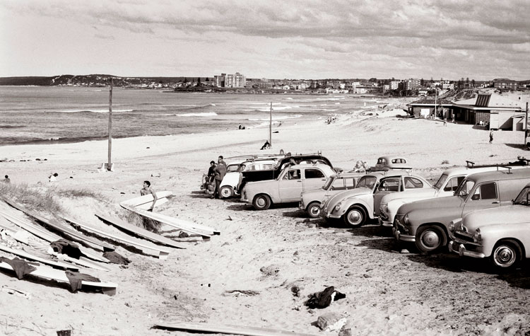 Wanda Car Park 1962 by Bob Weeks
