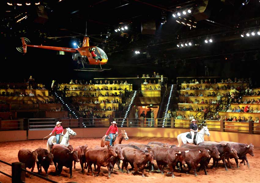 The RM Williams Outback Spectacular - Photography Courtesy of Mike Larder