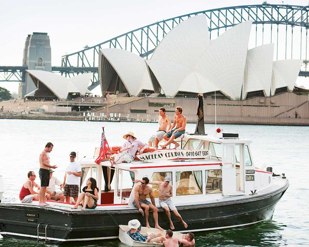 Sydney Harbour is great in summer