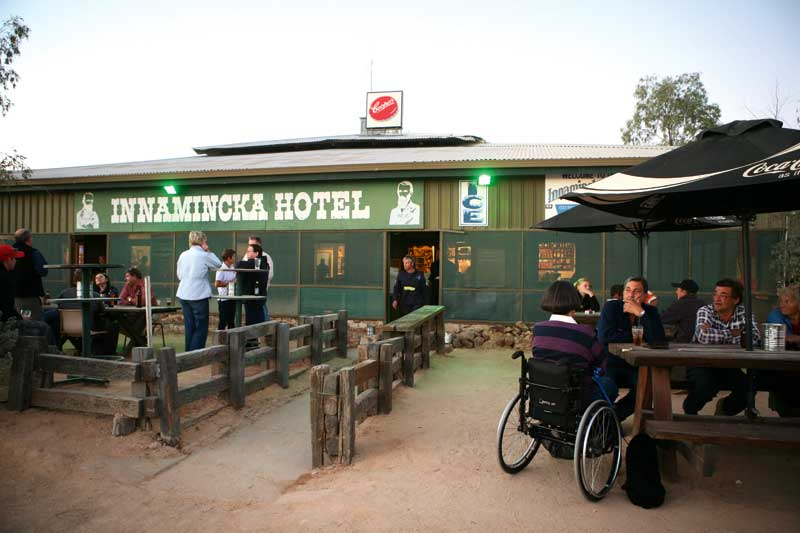 Innamincka Hotel, on the Strzelecki Track in far north South Australia, overlooking the beautiful Cooper Creek.