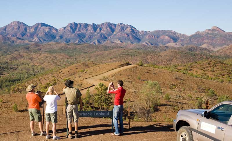 Explore this ancient landscape with Wilpena Pound Resort 4WD touring