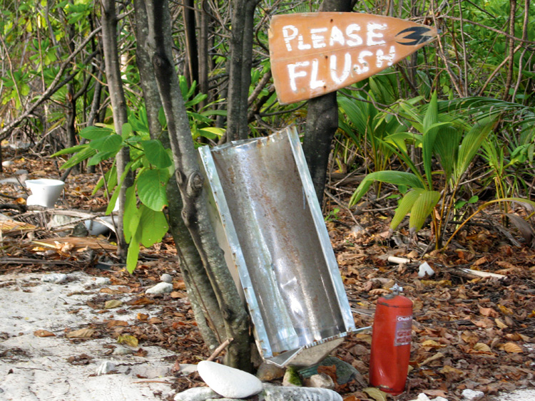Men's Island Toilet