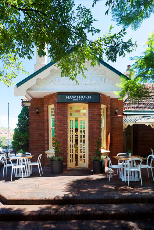 Entrance to the restaurant at Hawthorn Mosman