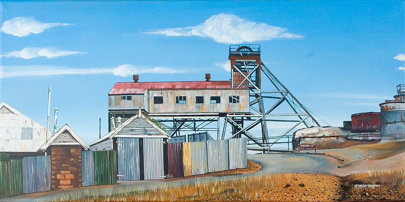 Junction Mine by Amanda Johnson