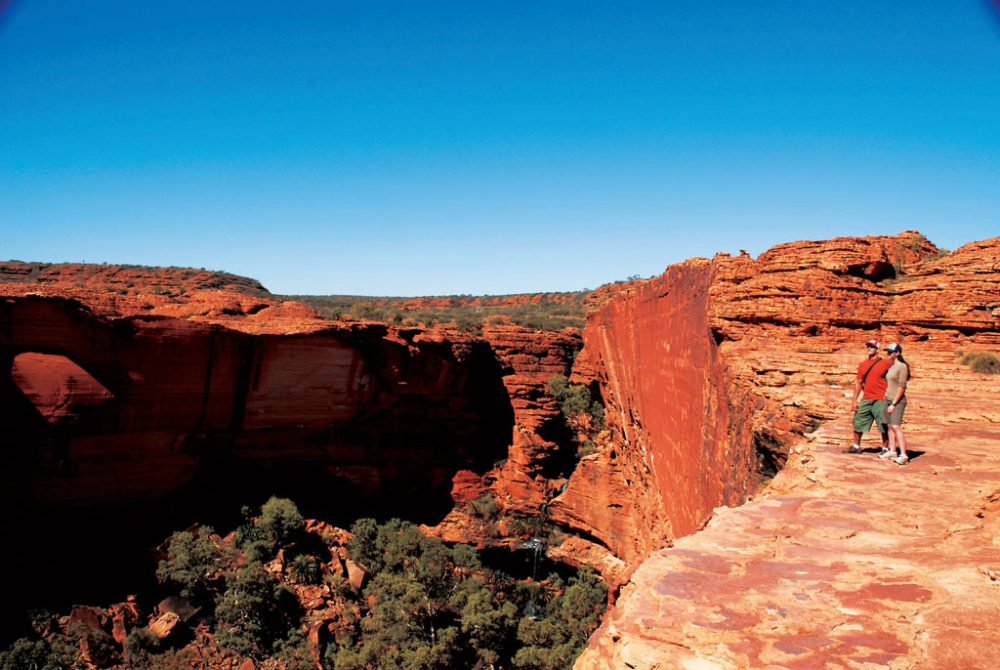 Kings Canyon in Watarrka National Park