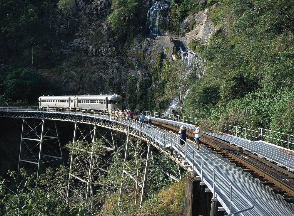 Kuranda Scenic Railway. Image by Toursim Qld