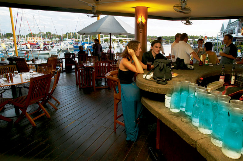 The popular Buzz Cafe, Darwin. Image by Tourism NT
