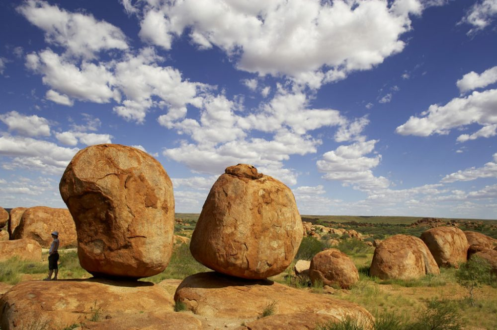Devils Marbles south of Tennant Creek