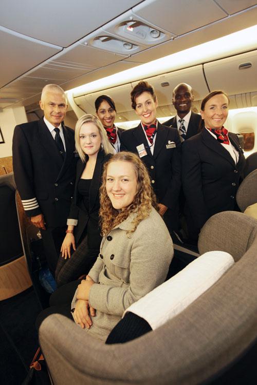 British Airways Baby, all grown up