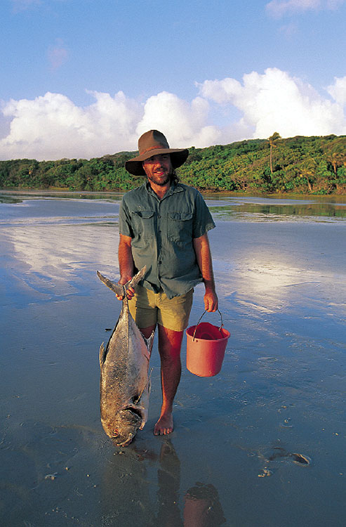 "The undisputed ""King of Australian Fish"", barramundi."
