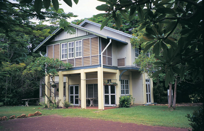Burnett House on Myilly Point. Image by Tourism NT