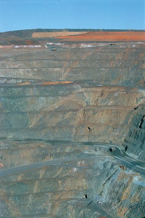 Super Pit Mine in Kalgoorlie